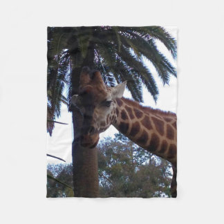 Cobertor De Velo Vigia do girafa, pequena