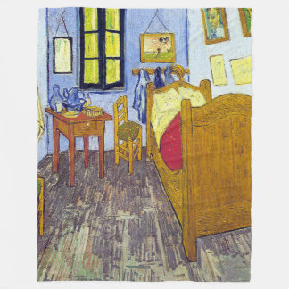 Cobertor De Velo Vincent van Gogh 1888 o quarto em Arles