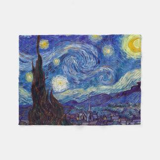 Cobertor De Velo VINCENT VAN GOGH - noite estrelado 1889