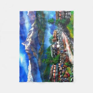 Cobertor De Velo Vista panorâmica da montanha Nepal de Everest
