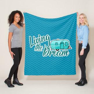 Cobertor De Velo Vivendo as coberturas de acampamento do sonho