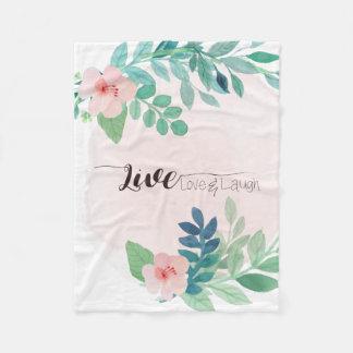 Cobertor De Velo Vivo, amor, cobertura floral do velo de Boho | do