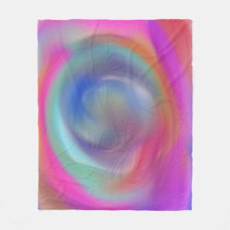 Cobertor De Velo Vortex do arco-íris