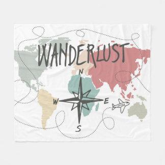 Cobertor De Velo Wanderlust
