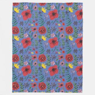 Cobertor De Velo Watercolour floral