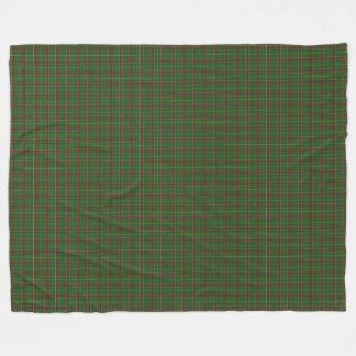 Cobertor De Velo Xadrez verde feita sob encomenda do Tartan de