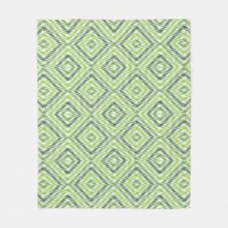 Cobertor De Velo Ziguezague verde