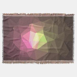 Cobertor Design abstrato & colorido do teste padrão -