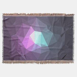 Cobertor Design abstrato & colorido do teste padrão - flor