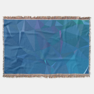 Cobertor Design abstrato & limpo de Geo - lagoa da ilha