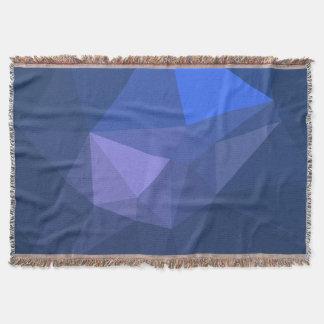 Cobertor Design elegante e moderno de Geo - golfinho do vôo