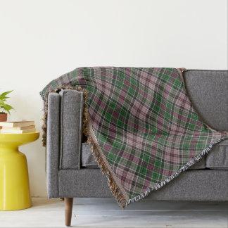Cobertor Diagonal verifique dentro a violeta e o verde