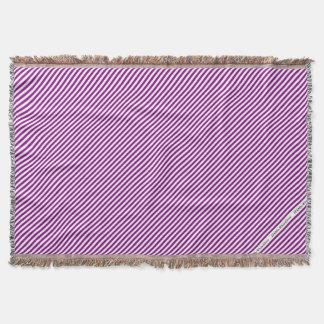 Cobertor Diagonal violeta & branca de HAMbyWG - cobertura