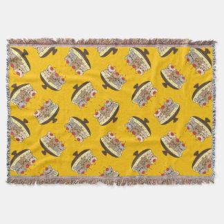 Cobertor Estes Frenchies querem ser sua separação de banana