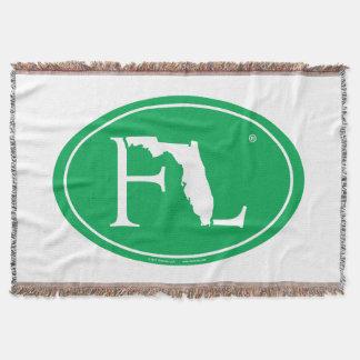 Cobertor Euro do orgulho do estado: FL Florida