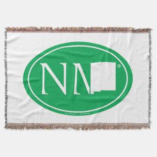 Cobertor Euro do orgulho do estado: Nanômetro New mexico