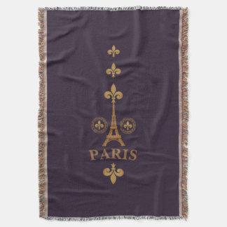 Cobertor Flor de lis de Paris