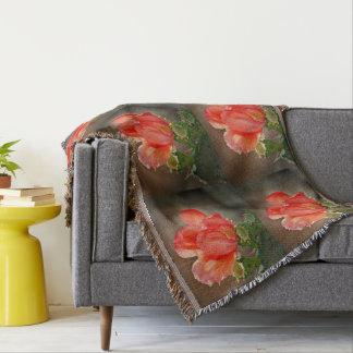 Cobertor Flor do cacto na cobertura feita sob encomenda