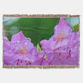 Cobertor Flor violeta