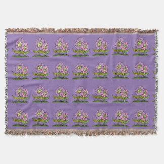 Cobertor Flores do smiley