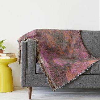 Cobertor Flores selvagens do mosaico abstrato - lance