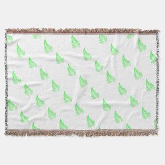 Cobertor Folha da samambaia do Fractal