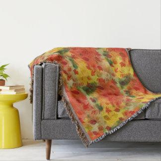 Cobertor Folhas de outono coloridas