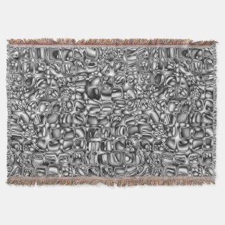 Cobertor Formas macro abstratas
