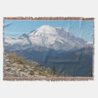Cobertor Foto esplêndido do Monte Rainier