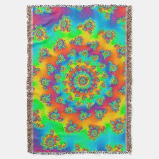 Cobertor Fractal mágico do Vortex do tapete