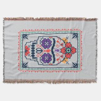 Cobertor Frida Kahlo | Calavera