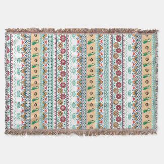Cobertor Frida Kahlo | Patrón de Colores