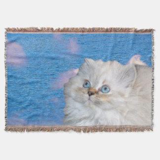 Cobertor Gato e água