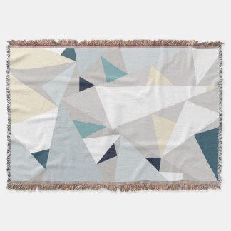 Cobertor Geo-Linhas lance polar/geométrico do teste padrão