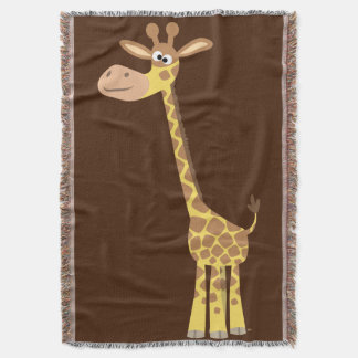 Cobertor Girafa bonito dos desenhos animados