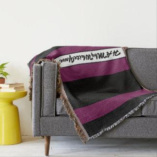 Cobertor HAMbyWG - cereja preta do lance & rica geral