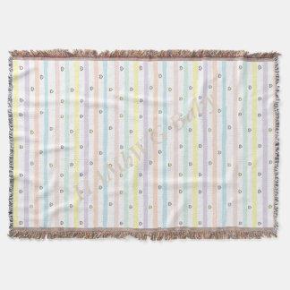 Cobertor HAMbyWG - cobertura do lance - linhas & corações