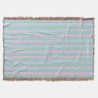 Cobertor HAMbyWG - cobertura do lance - listras Pastel