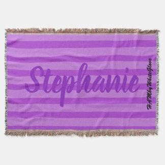Cobertor HAMbyWhiteGlove - cobertura do lance - violeta