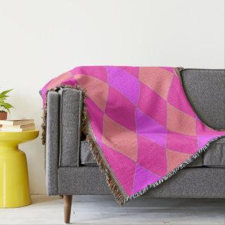 Cobertor Harlequin_Lilac-Melon-Rose