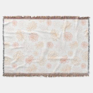 Cobertor Impressão botânico da planta floral do Succulent