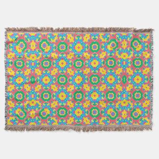 Cobertor Impressão colorido geométrico
