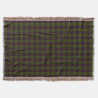 Cobertor Impressão verde escuro da xadrez de Odee, listra