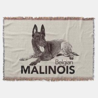 Cobertor k9 unidade - Malinois - pastor belga - Mechelaar