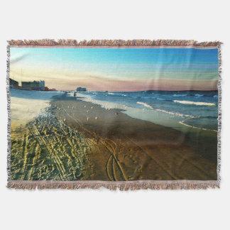 Cobertor Linha costeira e passeio à beira mar de Daytona