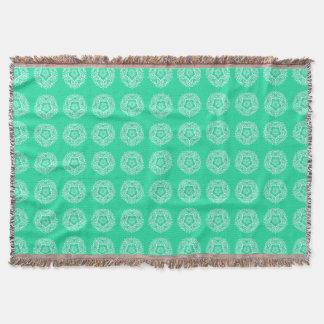 Cobertor Mandala Minty