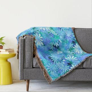Cobertor Margaridas azuis de Digitas