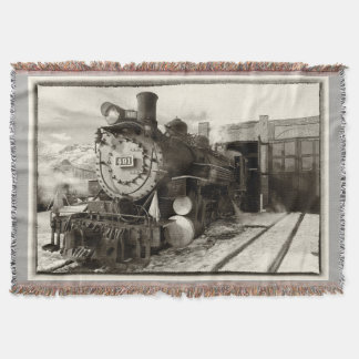 Cobertor Motor 491 do museu da estrada de ferro de Colorado
