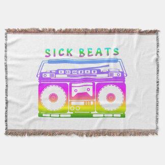 Cobertor O doente bate o estéreo do anos 80