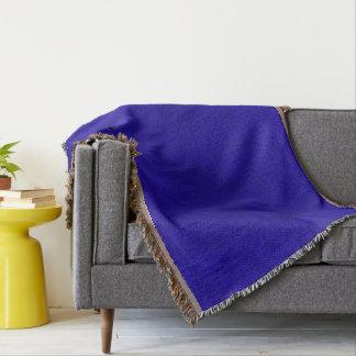 Cobertor Olhar de néon de veludo da cor dos azuis marinhos